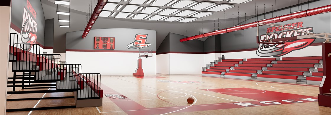 Spencer Gymnasium Coming Soon