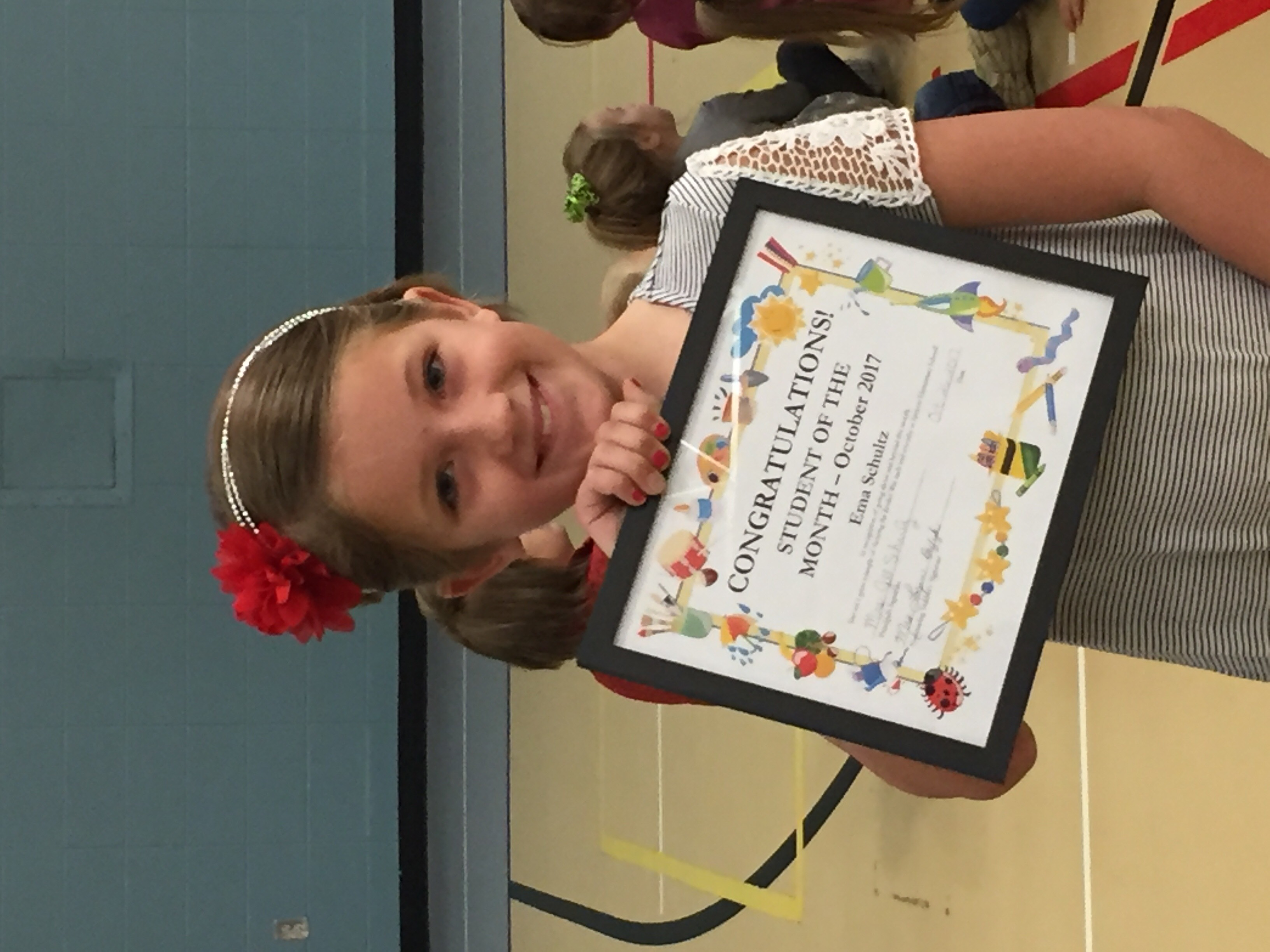 Ema Schultz - October Student of the Month