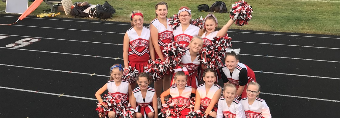 Elementary Cheerleaders