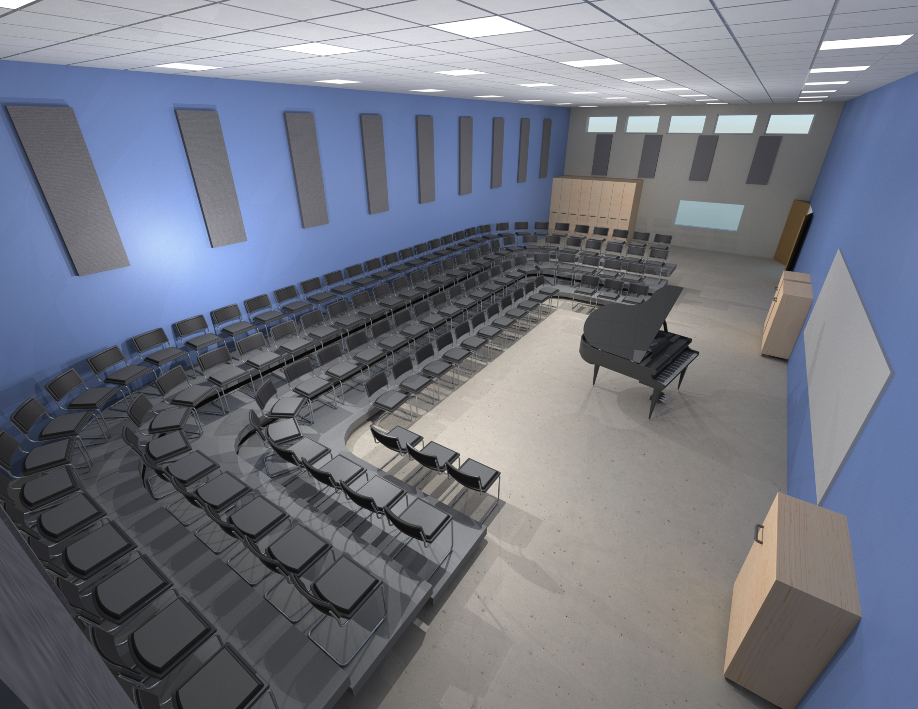 Proposed Choir Room