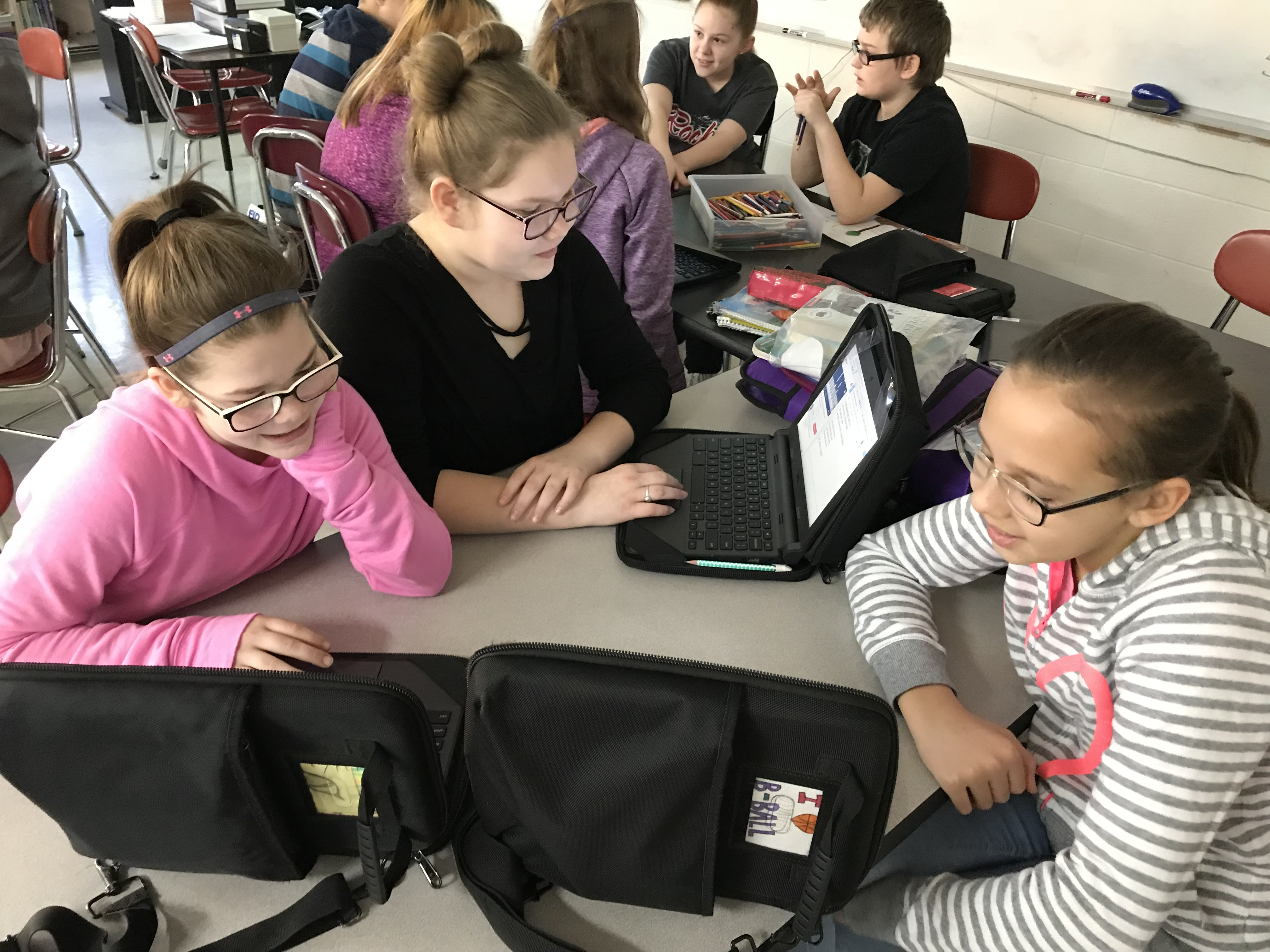 Students Integrating Technology and Music