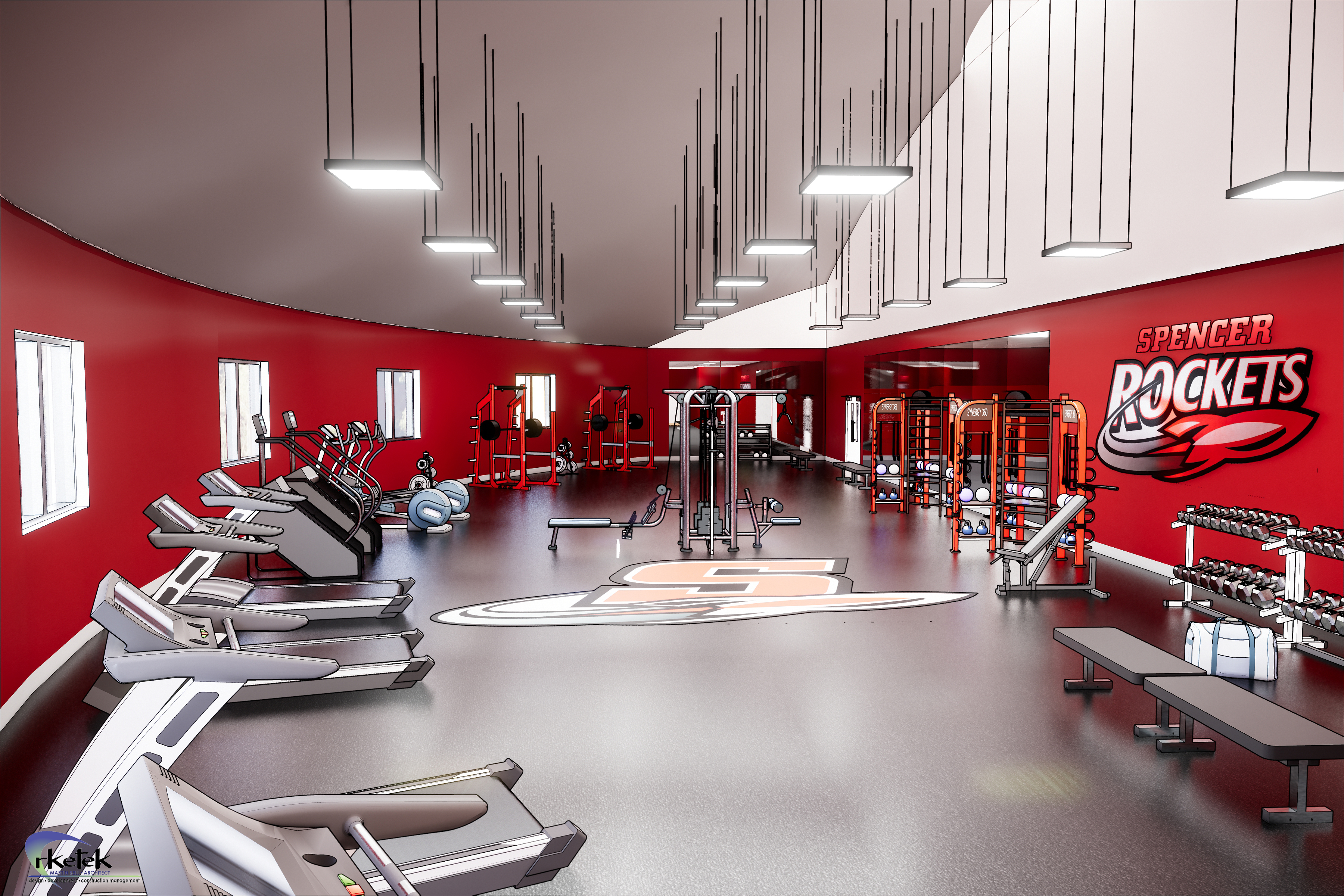 Proposed Strength and Cardio Center