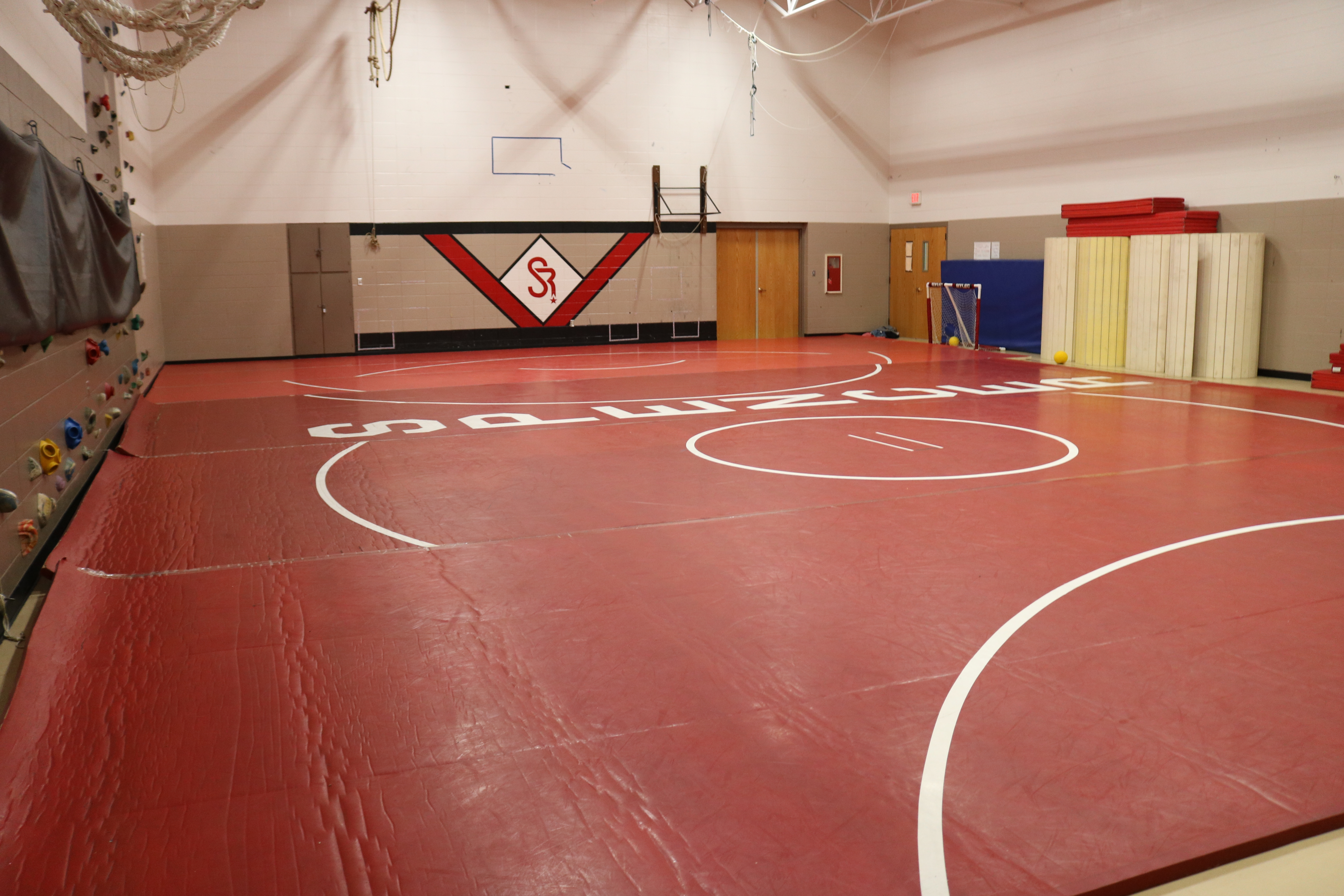 Current Wrestling Room