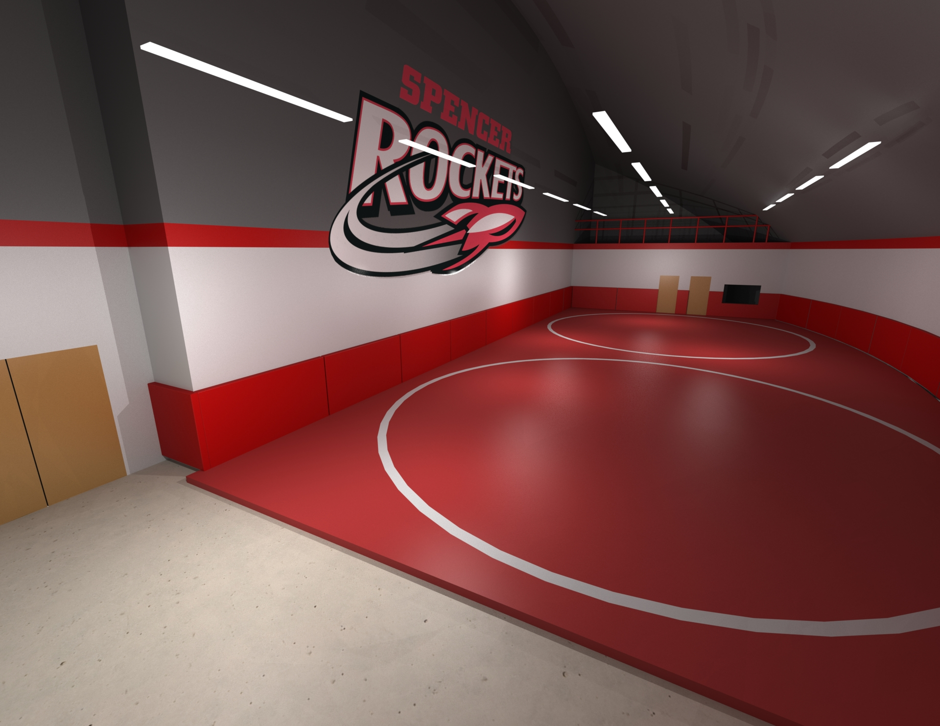 Proposed Wrestling Room