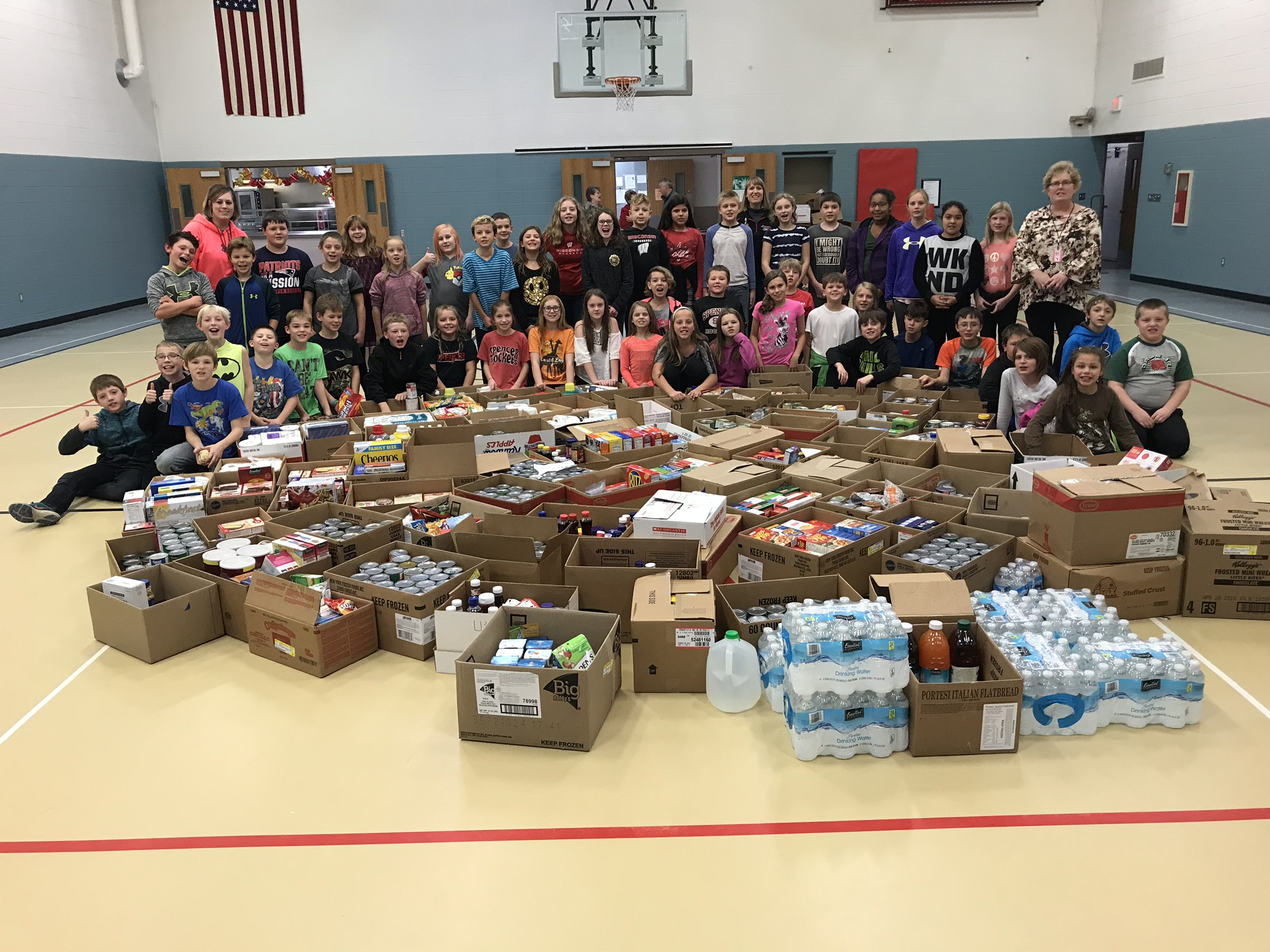 5th Graders with our 3000 items!!