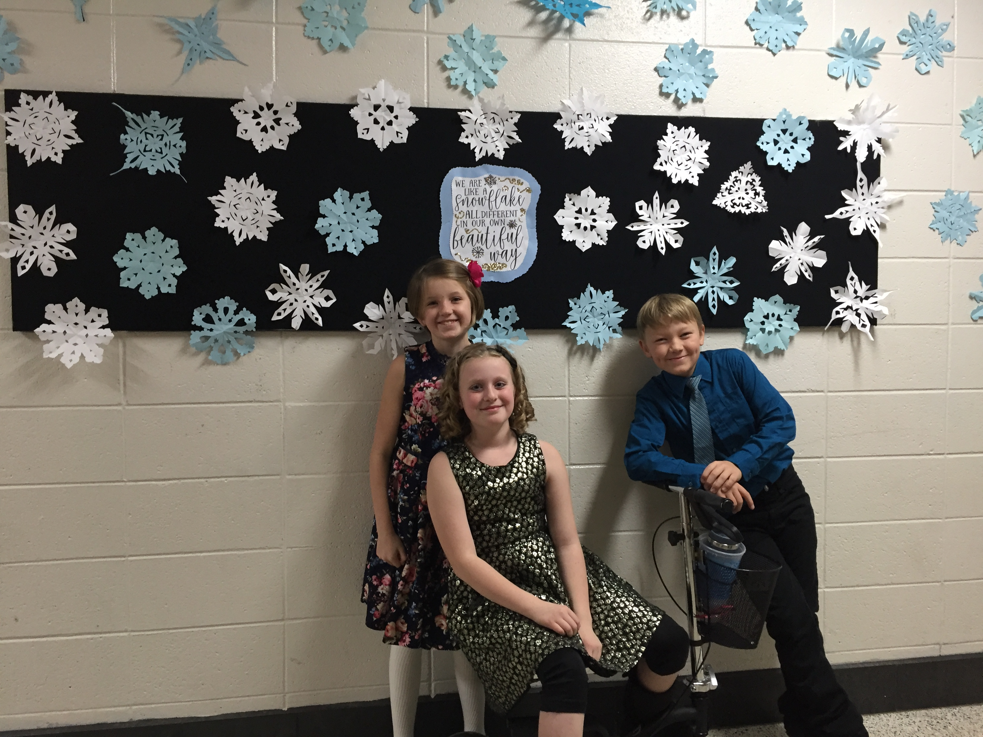 Ready for our winter concert