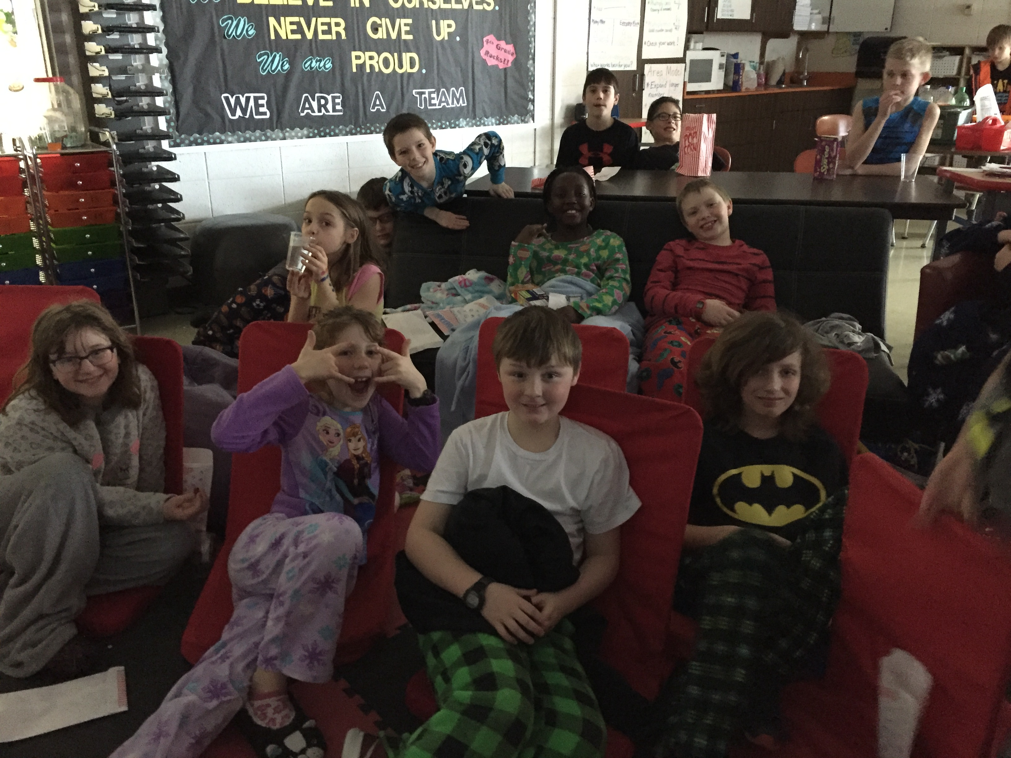AR Contest Pajama Movie Party!